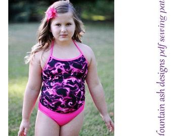 Swimwear separates 1 bikini tankini swimsuit sewing pattern