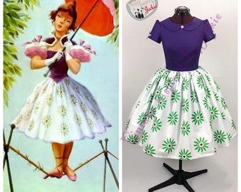 Sally Slater Peter Pan Collar Dress