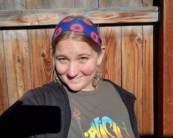 Fishman Donut O's Stretchy Spandex Headbands for Women or Men