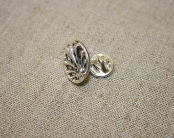 Unisex Lapel Pin,Silver Lapel Pin,Handmade Silver Lapel Pin ,Statement Jewelry, Silver Tie Tacks,