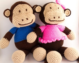 Stuffed Monkey - Best Baby Gifts - Cute Stuffed Animals - Baby Nursery - Baby Shower Gift - Stuffed Animal - Gifts for Children - Monkey Toy