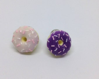 Colour Changing Light Pink Doughnut Pin