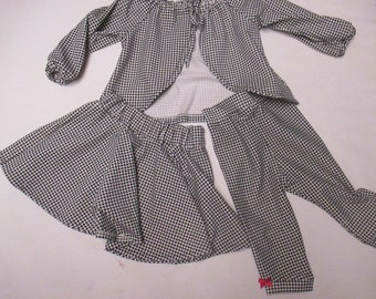 Clothing-Girls 3 piece set