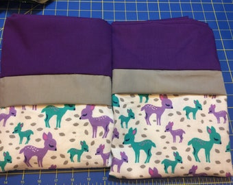 Deer Pillowcases