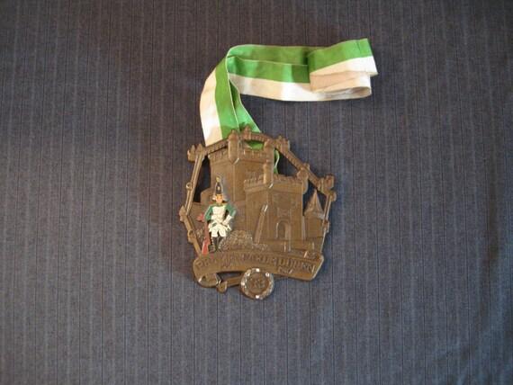 Prinzengarde Duren, German Carnival Medal, 1954 - 1987 [Vintage]