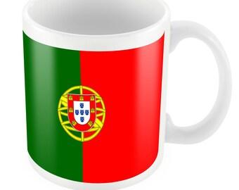 Portugal Road To World Cup Ceramic Mug Gift Birthday Present Novelty Brasil 2014