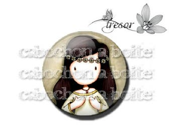 PA162 glasses, Retro girl children manual cabochons