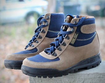 Amazing vintage Vasque Sundowner Skywalk Hiking Boots- Made in Italy- Size 6.5 M (Men's Reg.) may fit trans/other genders check measurements