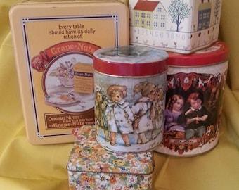 Vintage Tin Collection Starter Kit