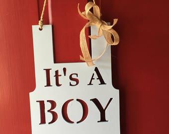 It's a Boy - Wooden Sign