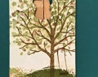 Tree and Swing Gift Tag