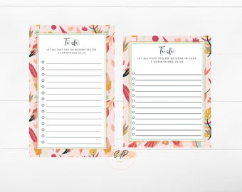 Digital File - Artwork Template for Custom Stationery or Notepad - Christian Artwork - Personalized Stationery - Not Physical Item