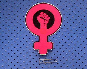 Feminist Revolution Bumper Sticker
