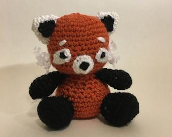 Red Panda Crochet Amigurumi Plushie