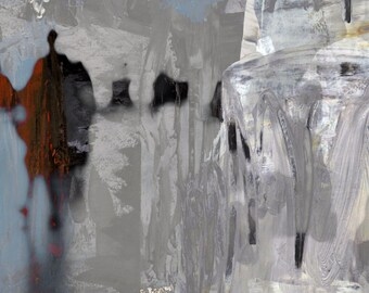 AIRPORT VIII - Mixed Media Art by Sven Pfrommer - Artwork is ready to hang