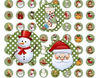 Digital Printable Hershey Kisses Christmas Labels