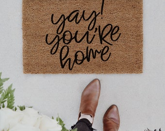 Indoor welcome mat | Etsy