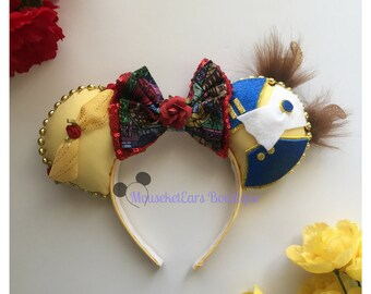 Beauty and the Beast inspired Mouse Ears