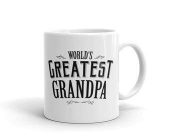 Men's World's Greatest Grandpa Coffee Mug