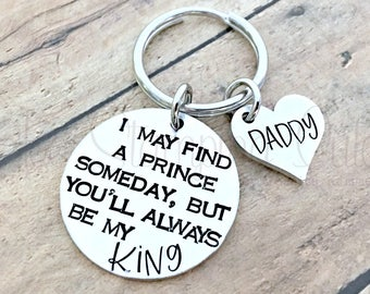 Dad Keychain | Gifts For Dad | Daddy Daughter | Daddy To Be | Father Of The Bride | Gifts For Him | Dad Birthday Gift | Daddy's Little Girl