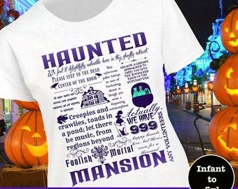 Disney Haunted Mansion Shirt, Haunted Mansion Shirt, Disney Haunted Mansion Tank, Disney Halloween Shirt, Disney Halloween Tank
