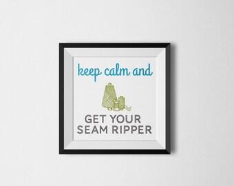 Seam Ripper Poster