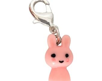 Stitch Marker Rabbit Pink
