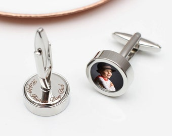 Secret Message Photo Cufflinks (HBMC18)