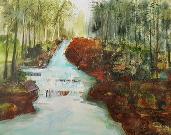 River into Falls