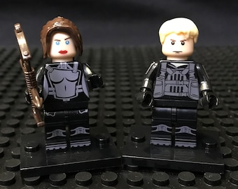 Katniss Peeta Hunger Games Minifigure Set USA Fast!!