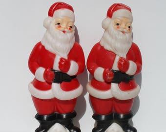 "Vintage Santa Claus St. Nick Kris Kringle Light Up Blow Mold Blowmold Carolina Enterprise 1973 Christmas Holiday Indoor Outdoor Decor 22"""