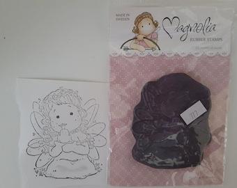 Magnolia rubber stamp - Beautiful Tilda