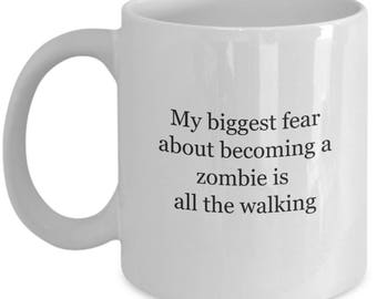 zombie apocalypse, the walking dead, coffee,coffee cup,geekery,zombies,geek,zombie,coffee lover gift,i love zombies, geeky gift, zombie gift