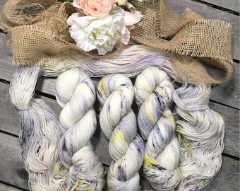 Solstice Twilight- Sturdy Sock Hand Dyed  Sock Yarn Superwash Merino Nylon