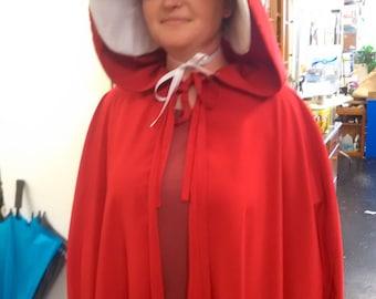 Full set of handmaid costume pieces