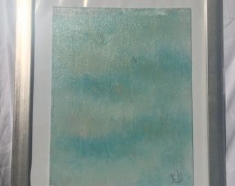watercolor frame acrylic painting