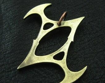 Bronzeanhänger Qual