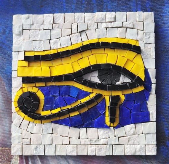 Craft kit for adults The Eye of Ra / Horus DIY Mosaic art