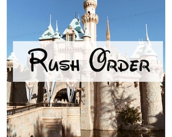 Rush Order   Guarantees order is shipped within 24 hours of purchase