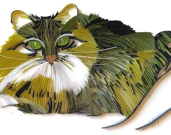 Custom Portrait of a Cat