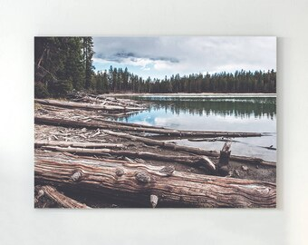 Forest Print, Forest Photography, Forest Wall print, Lake print, Nature Prints, Forest Art, Wood print, Wilderness Poster, Woodland Prints