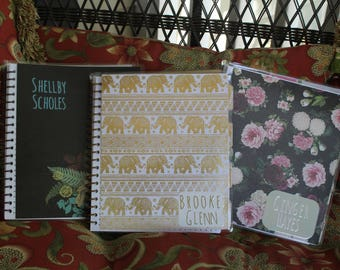 Personalized Handmade Planner