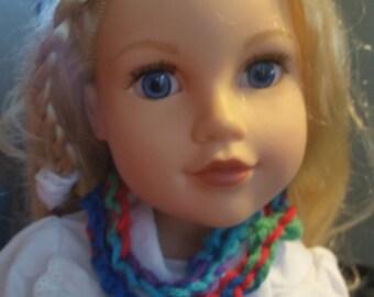 American Girl scarf