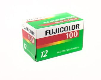 Fujifilm ISO100 12 exp color film, expired in 2010