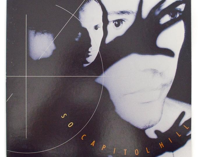 "Vintage 80s So Capitol Hill (John Luongo Mix) 12"" Promo Single Record Vinyl"