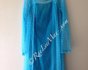 Blue Rhinestone Embellished Adult Princess Elsa inspired Dress-AE90125-Adult queen elsa costume-Adult Halloween costume & Elsa costume adult | Etsy