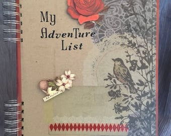 Bucket List Journal/Adventure Journal
