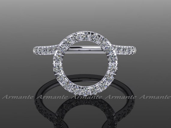 Halo Ring Guard Ring Enhancer Wedding Ring Enhancer