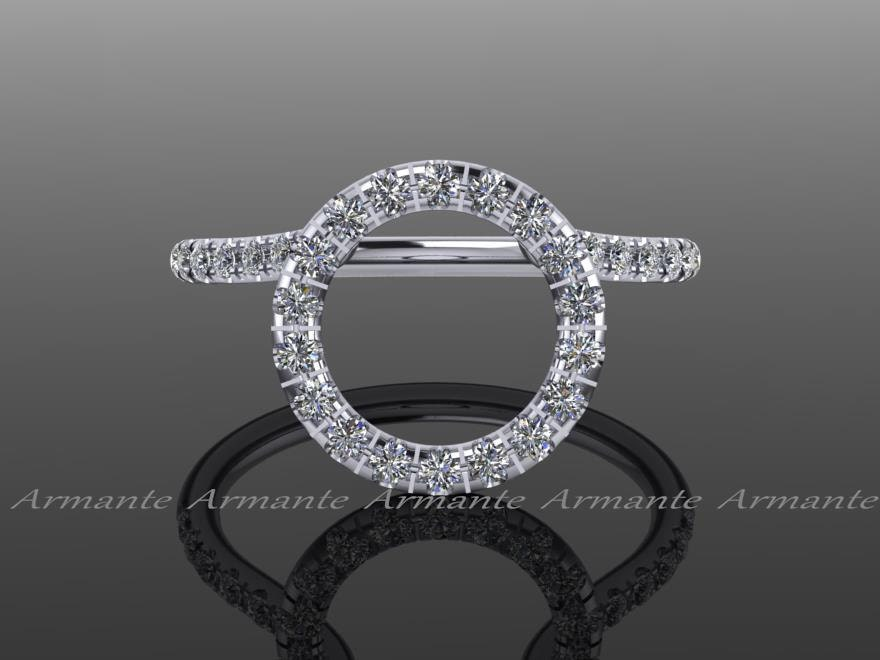 Halo Ring Guard Ring Enhancer Wedding Ring Enhancer Natural