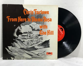 Chris Farlowe with The Hill vinyl record From Here To Mama Rosa 1970 EX